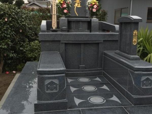 大分市デザイン墓完成