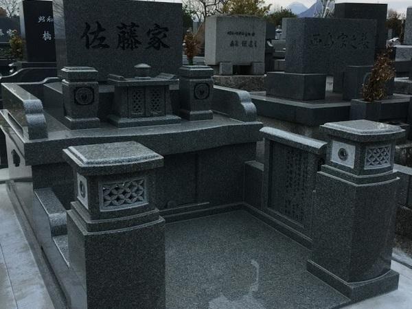 大分市丸山墓地にお墓が完成しました