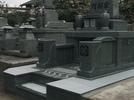 大分市洋型墓石完成の画像1