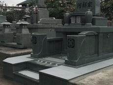 大分市洋型墓石完成