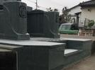 大分市洋型墓石完成の画像2