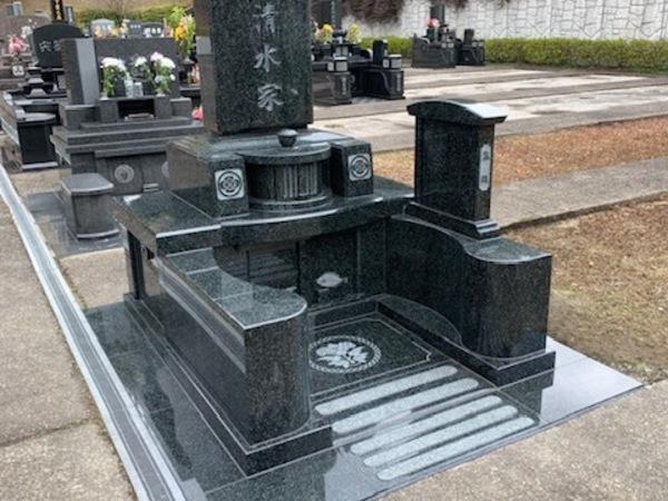もみじ霊園デザイン墓完成