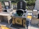 大分市やすらぎ霊園「和み」墓地お墓完成の画像1