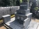 大分市龍音寺霊園墓石完成の画像1