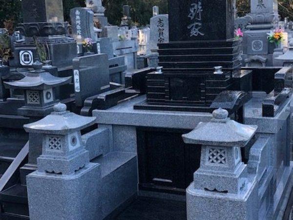 龍音寺 デザイン墓 完成