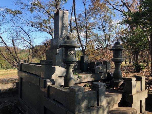 お墓のリフォーム石工事 ビフォーアフター
