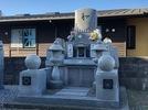 大分市寺墓地にデザイン墓石 ビフォーアフターの画像2