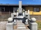大分市寺墓地にデザイン墓石 ビフォーアフターの画像1