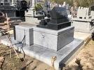 大分市やすらぎ霊園デザイン墓完成の画像2