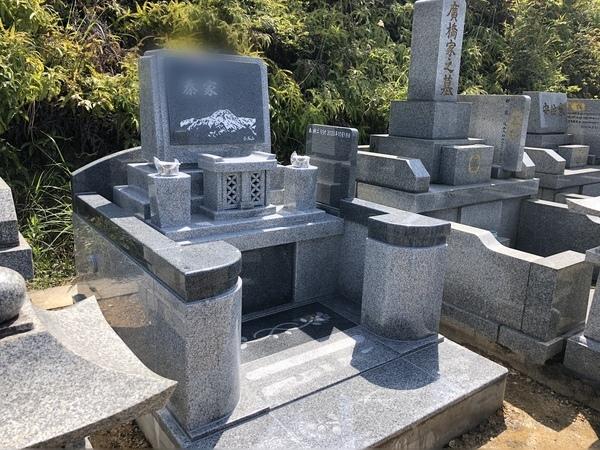 大分市香華霊園 デザイン墓完成
