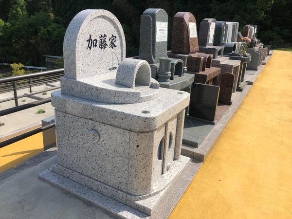 やすらぎ霊園「和み」デザイン墓完成