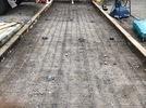 大分市霜凝神社 参道石張り工事 基礎コンクリート打設の画像3