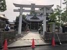 大分市霜凝神社 参道石張り工事 基礎コンクリート打設の画像1