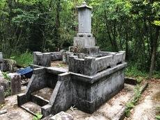 豊後大野市墓石の解体完了