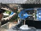 大分市天然塚墓石完成の画像4