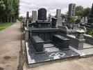 大分市天然塚墓石完成の画像2