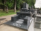大分市天然塚墓石完成の画像1