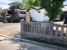 霜凝神社玉垣改修石工事の画像1