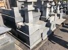 お墓のリフォーム完成 階段を2段から3段への画像3