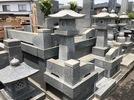 お墓のリフォーム完成 階段を2段から3段への画像2
