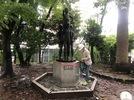 大分市立金池小学校 石碑解体の画像2