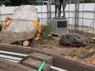 大分市立金池小学校 石碑解体の画像5